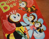 1950s Busy Bee Coloring Book For Children - RetroPickins