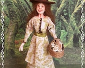AUNTIE JUNE ooak 1:12 WITCH doll by Soraya Merino