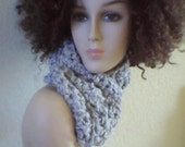 Shimmers of Light Bulky Cowl
