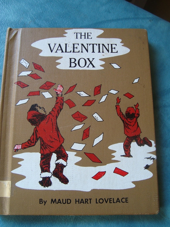 The Valentine Box by Maud Hart Lovelace Vintage Childrens Book