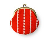 Rice Lace Orange Coin Purse - humoresque