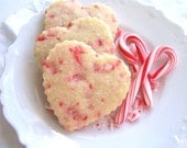 Peppermint Shortbread Cookies 1 Dozen - ButterBlossoms