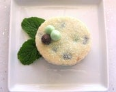 Mint Chocolate Chip Shortbread Cookies - 1 Dozen - ButterBlossoms