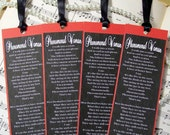 Bookmark Maya Angelou's Phenomenal Woman in Black, Red and White