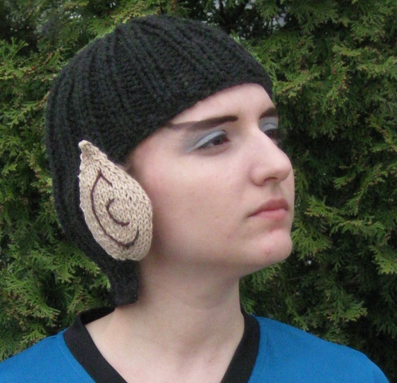 Knit Vulcan Hat - Spock Touque
