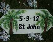 WEDDING SIGN - Personalized Handpainted Keepsake Sign  - Custom Made Wood Wedding Sign - TheRightJack