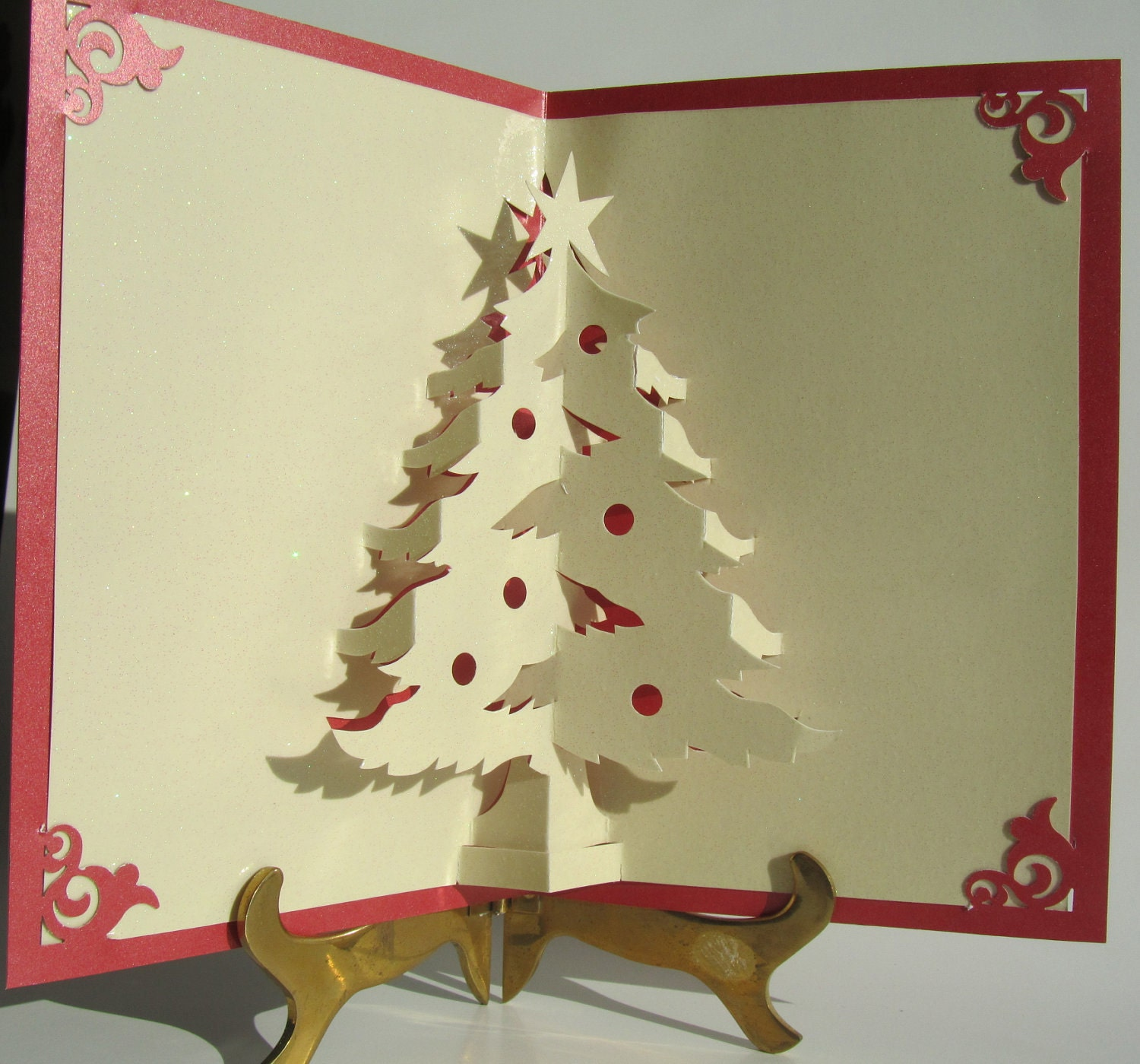 christmas tree handmade christmas card ideas pinterest