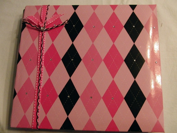Premade Scrapbook Diva Princess 8x8 Ready made Scrapbook