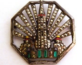 GGIE Golden Gate International Exposition Tower Of The Sun Brooch - Xulha