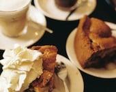 Coffee cakes film photo tea delicious lifestyle kitchen cookery home decor - Un délice - fine art film print 8 x 12 - LumiereDuMatin