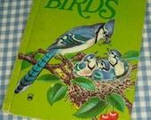 the wonder book of birds, vintage 1974 children's book - vintagebookbazaar