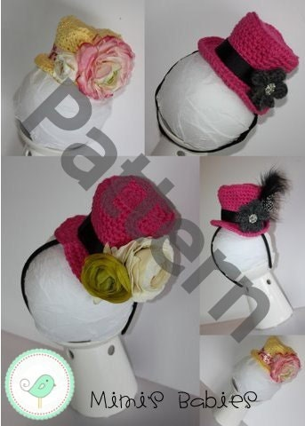 How to Crochet a Mini Top Hat - Yahoo! Voices - voices.yahoo.com