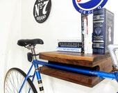 "Elevate Bike Rack - Walnut (14"") - ElevateWoodworks"