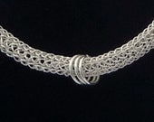 Viking Knit Necklace - SilverWaveDesign