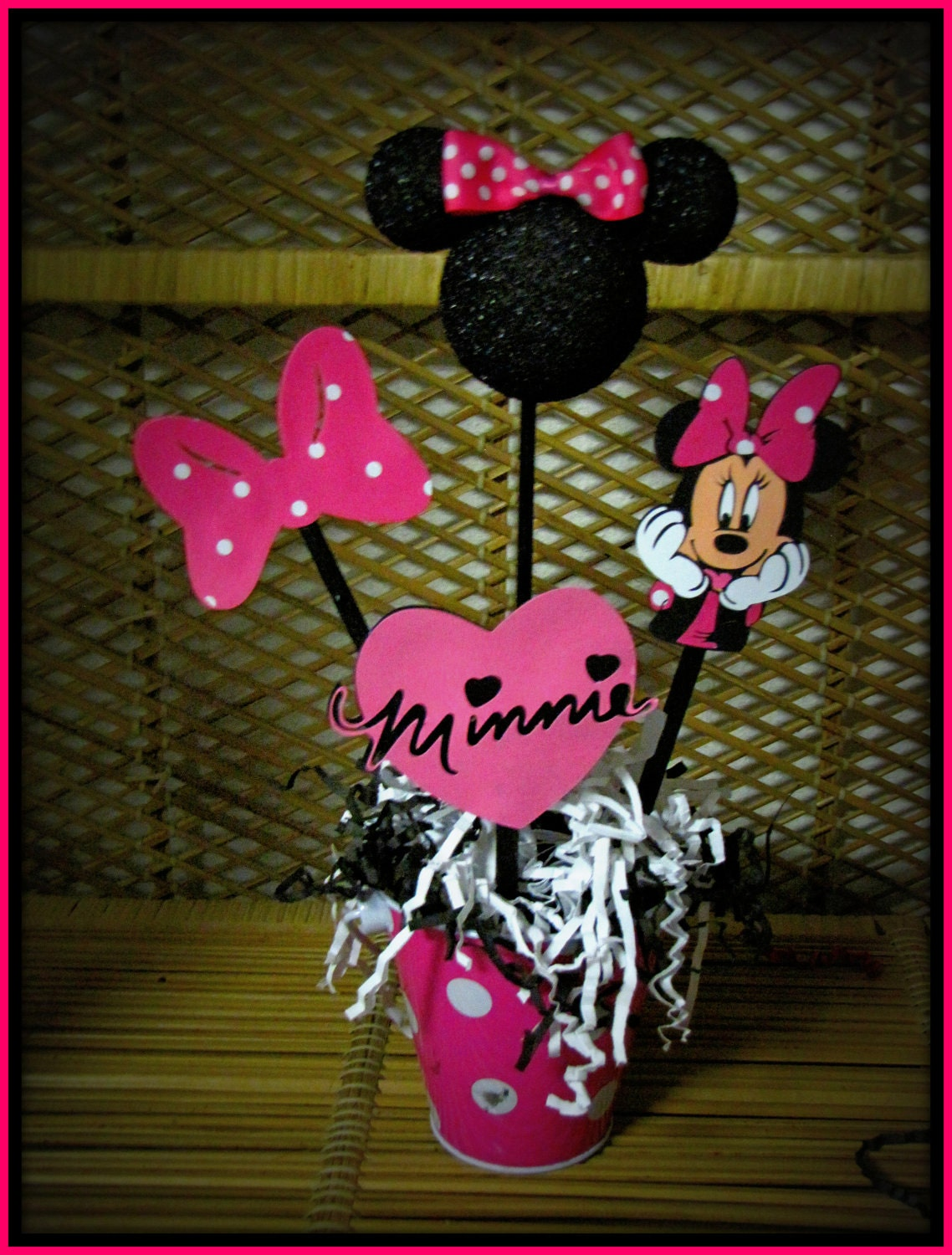 Minnie mouse table decorations ideas car interior design for Baby minnie mouse party decoration
