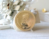 1976 Canadian Olympic coin, 100 dollar, collectible gold coin - MeshuMaSH