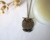 Owl Necklace (Pendant) - 636designs