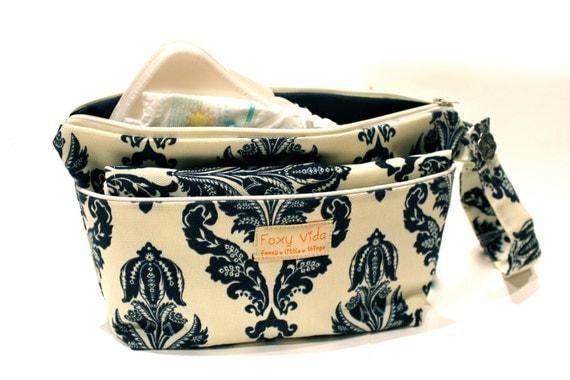 Binkys And Buggys Foxy Vida Wet Bag Set With Dry Pocket