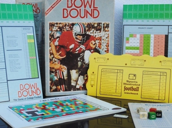 Vintage Football Board Games 12