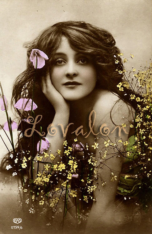 MATURE Vintage Nude Flower Power DOWNLOAD