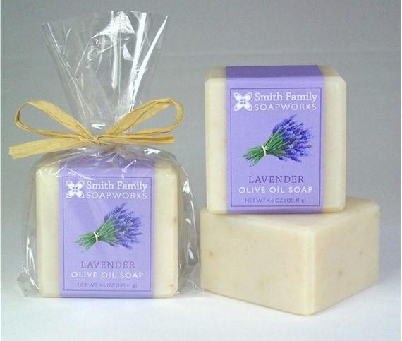 Лаванда мыло - Натуральное мыло, мыло ручной работы, оливковое масло мыло, мыло холодной процессов