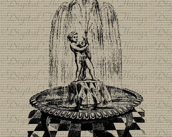 Popular items for fountain statue on Etsy