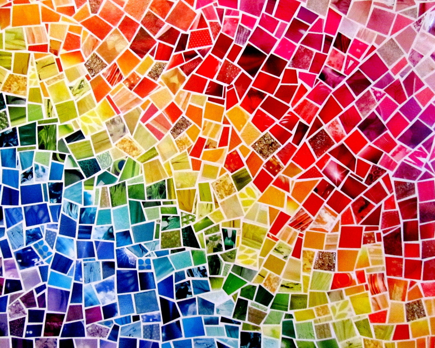Paint Sample Mosaic Art
