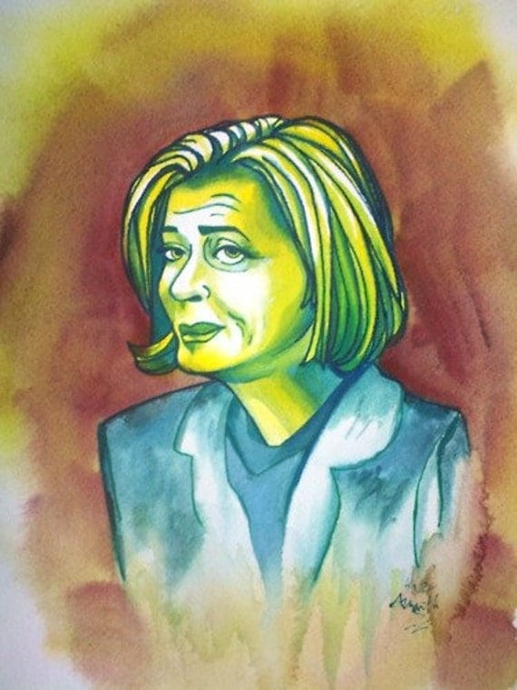 lucille bluth arrested development portrait
