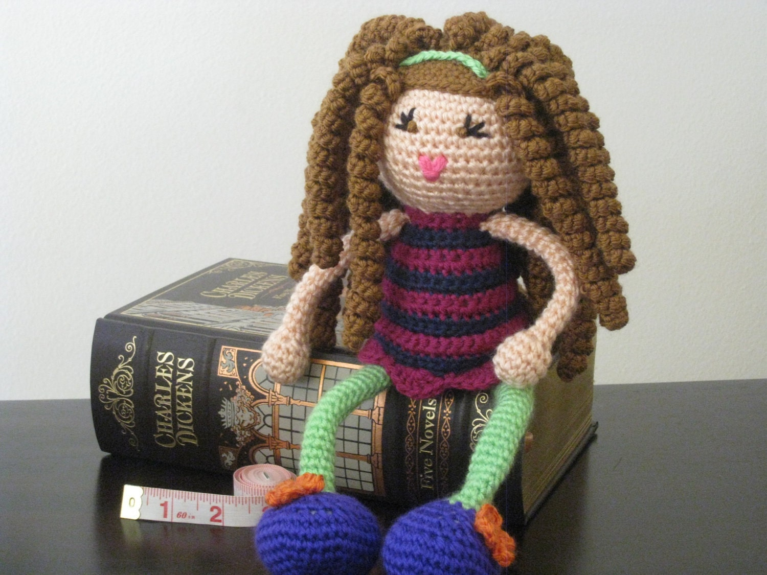 Crochet Hair On Dolls : Crochet Doll Hair http://www.etsy.com/listing/89390425/crochet-plush ...