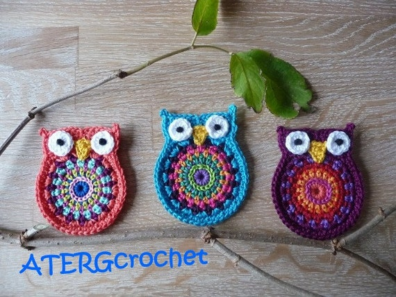 Crochet Pattern Owl  Big Brother  By ATERGcrochet