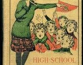 TREASURY ITEM-1917 Vintage HC Book-Marjorie Dean-High School Freshman by Pauline Lester - lollybine