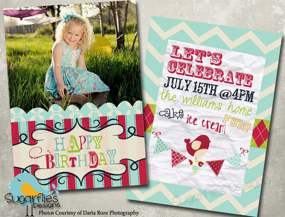 Free Birthday Invitation Templates For Photoshop