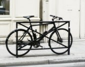 FREE SHIPPING Black Friday Cyber Monday Bike print, Paris, France, retro decor, vintage bicycle, fine art photography, 5x7 (13x18) - AnnaKiperPhoto