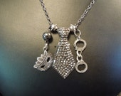 50 Shades of Grey Inspired Necklace