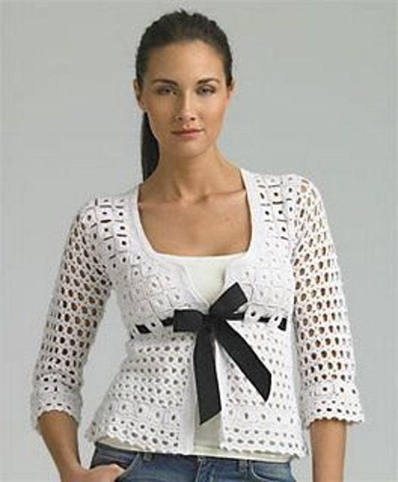 توری بالا بلوز، ژاکت دستباف قلاب دوزی، سفارشی ساخته شده است. بی اعتنایی تلقی بولرو ساخته شده به سفارش