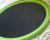 Pastel Green Vintage Chalkboard Frame