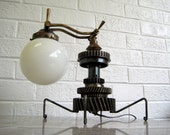 Table Lamp - Steampunk Artisan Crafted - contentshome