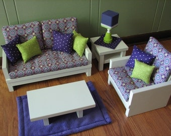American Girl sized / 18 Doll Furniture by MadiGraceDesigns