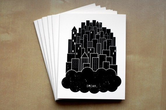 Dream Greeting Card - 6 Pack (Recycled Paper)