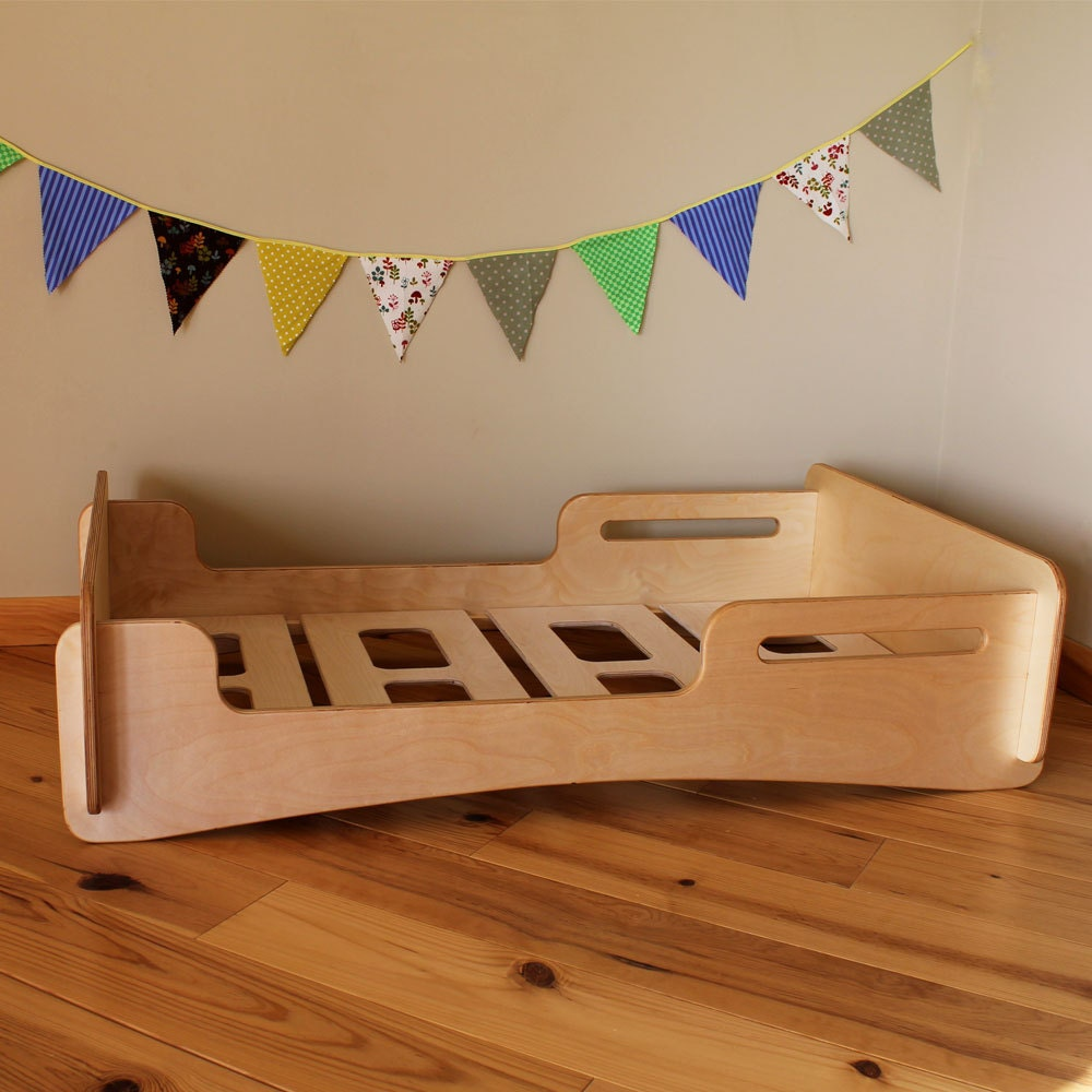 We Were Thrilled To Find This Full Twin Size Low The Ground Montessori Style Modern Bed By Esty Seller HighlandWood