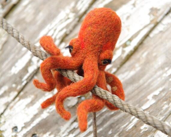 Octopus Finger Puppet