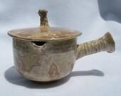 Teapot with crystalline glaze - AdelineWysong