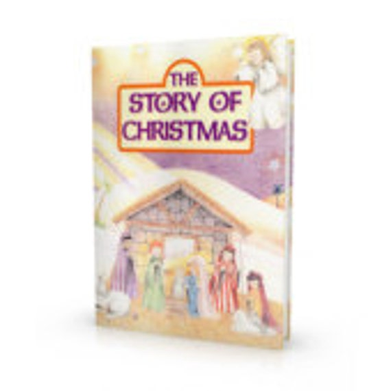 The Story of Christmas - Personalized Keepsake Story Book, Christian, Jesus, Made to Order - Child's Room