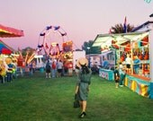 "8 X 10 Film Phototography Print - ""Carnival Time Warp"""