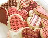 I Heart You / Valentines Day/ Mothers Day Sugar Cookies with Buttercream Frosting - parchmentcookies