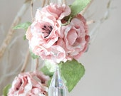 Round paper flower ornament, Paper decoration, wildflower scented as seen in UK Brides magazine Aug/September 2012