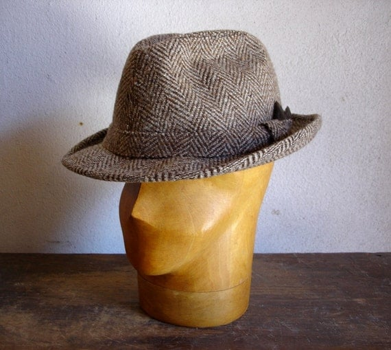1950s 1960s hat for men