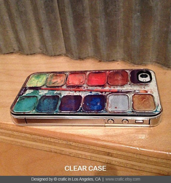 iPhone 4s case - Watercolor Set iPhone Case by Crafic