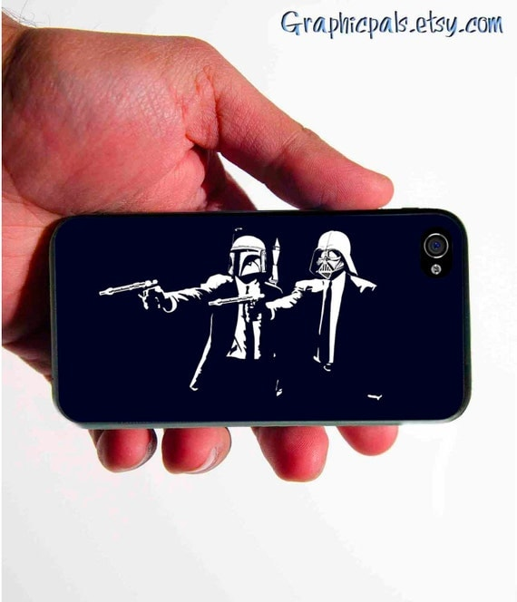 iphone 4 4s case Star Wars Pulp/Fiction GEEKERY