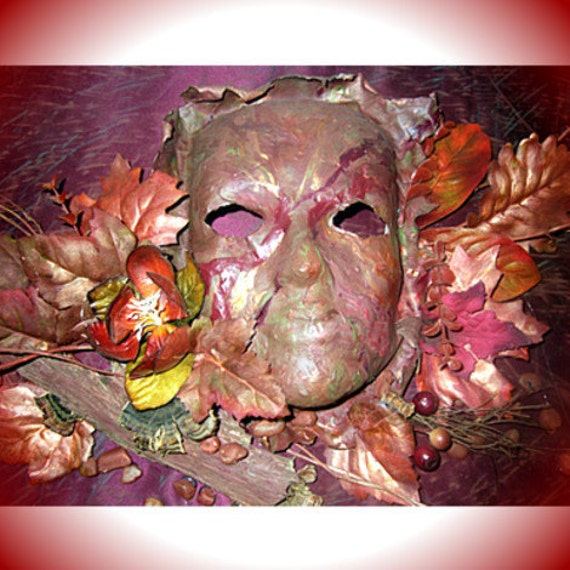 Sculpture Art Wall Decor Spirit Mask Renaissance by margewickliffe